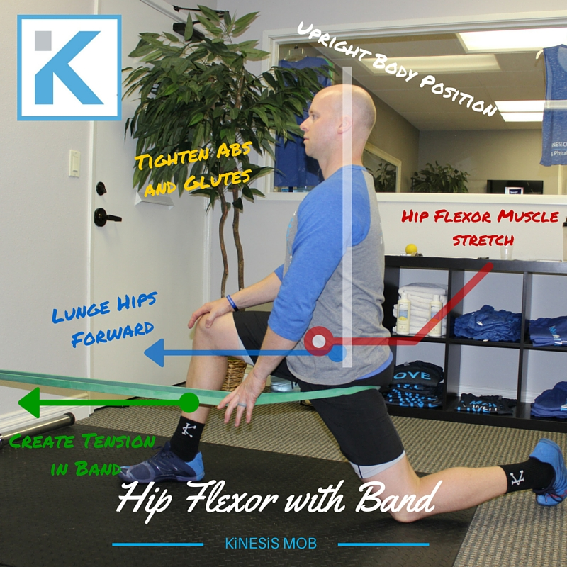 Hip Flexor with Band