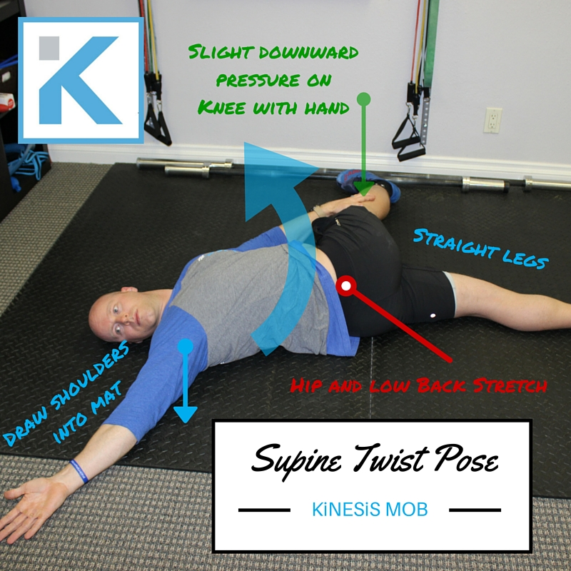 Supine Twist Pose