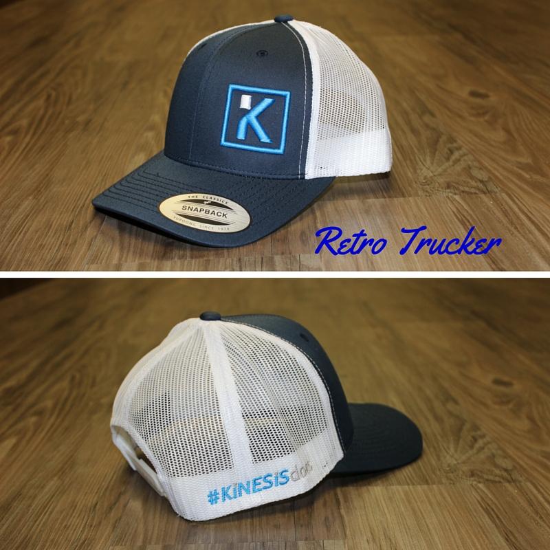 Retro Trucker Blue